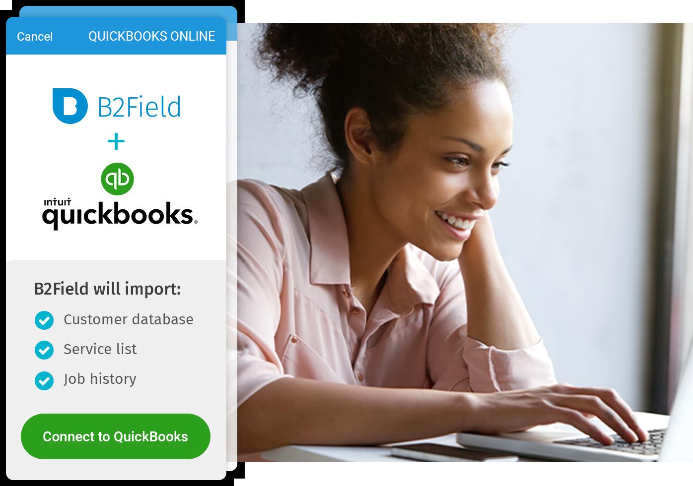 B2Field & QuickBooks