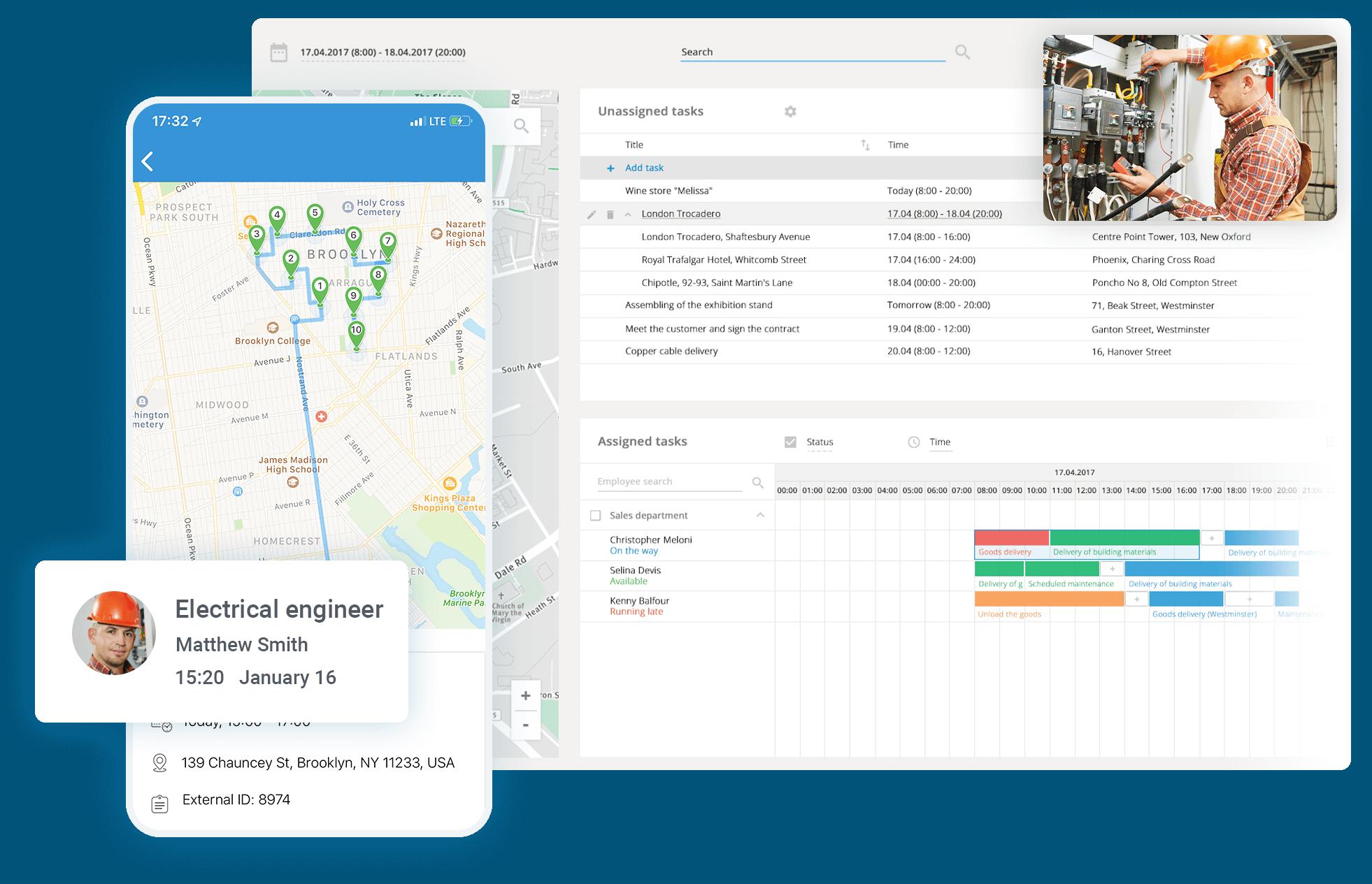 Electrician Service Software: Invoice, Estimate, Schedule & Dispatch