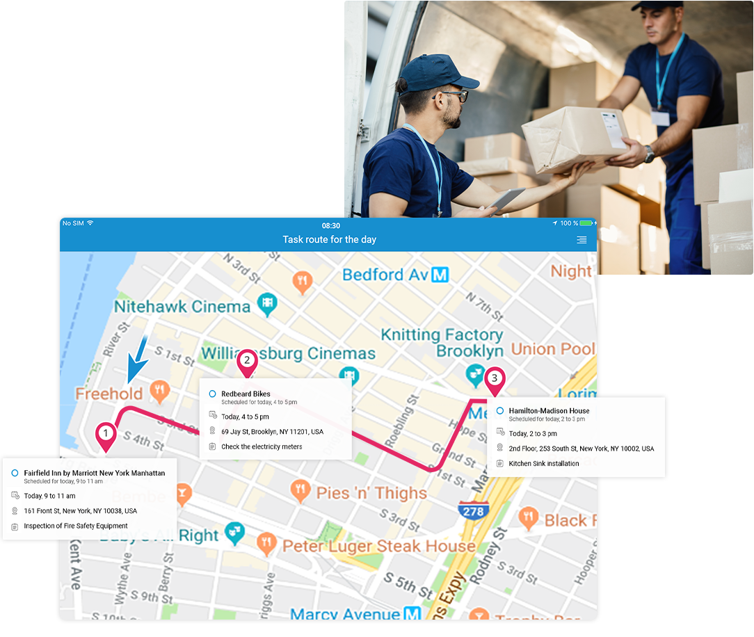 Plan optimal routes to cut delivery times