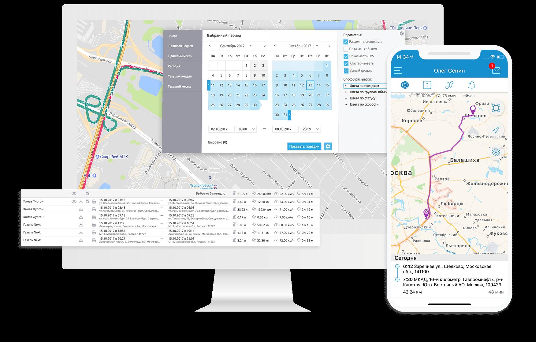 Контроль сотрудников по GPS
